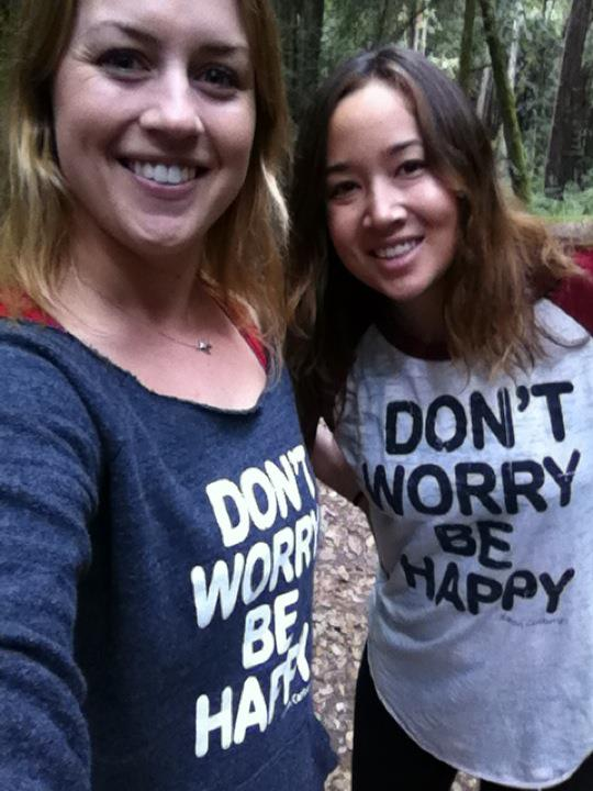 Dont Worry Be Happy shirts in Santa Cruz