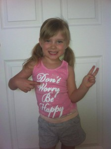 Lily in Ft Carson, CO supports DWBH warriors